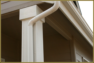 Round Downspout